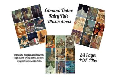 Edmund Dulac Vintage Fairy Tale Images 2