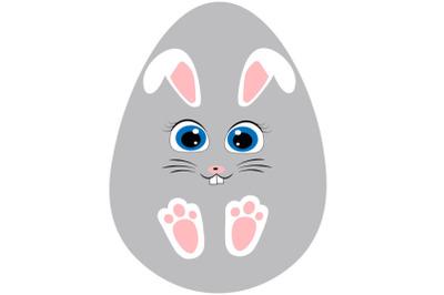 Bunny face, Easter bunny face svg, Rabbit  svg, Easter svg, Easter de