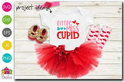 Little Miss Cupid Valentine SVG File