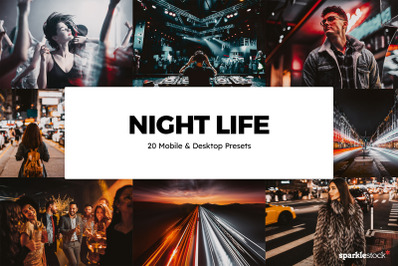 20  Night Life LR Presets