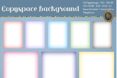 "Copyspace Background Ombre Background 12x12"" 8.5x11"" 5x7"""