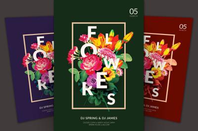 Flowers Flyer