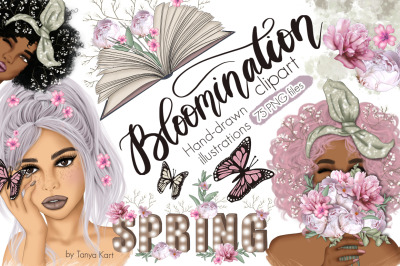 Bloomination Clipart & Patterns