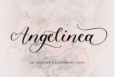 Angelinea Elegant Calligraphy Font