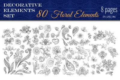 80 Decorative Elements