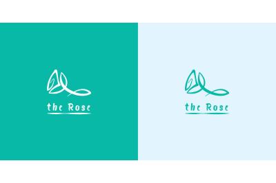 Logo the Rose vector