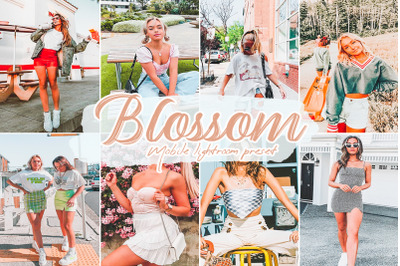 Blossom Lightroom Presets
