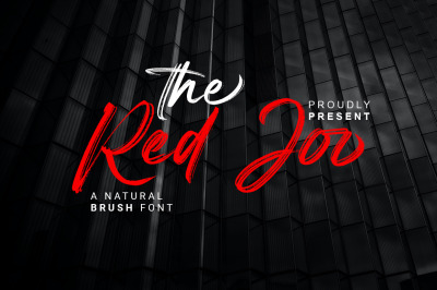 Red Joo - Natural Brush Font