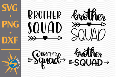 Brother Squad SVG, PNG, DXF Digital Files Include