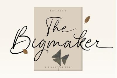The Bigmaker