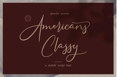 Americans Classy