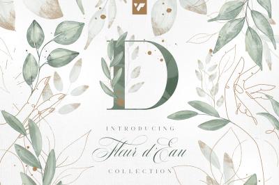Fleur d'Eau Graphic Collection