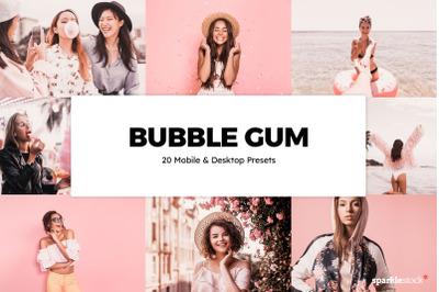 20  Bubble Gum LR Presets