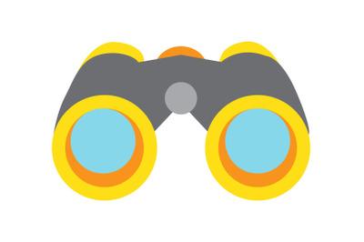 Camping binoculars Flat Icon