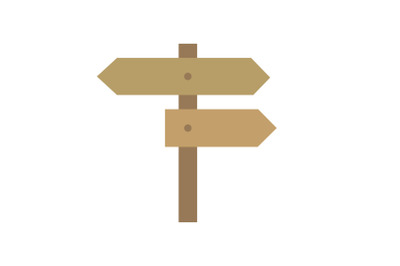 Camping Directions Flat Icon