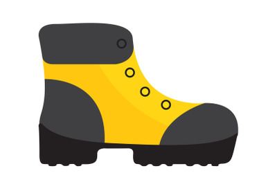 Camping  Mountaineering Boots Flat Icon