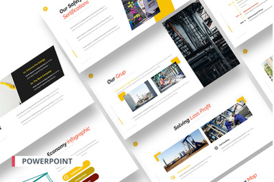 Gasprol Powerpoint Template