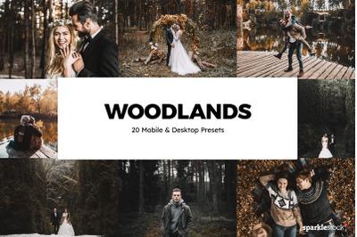 20 Woodlands Lightroom Presets & LUTs
