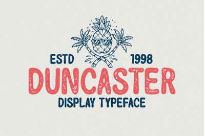 Duncaster - Display Typeface