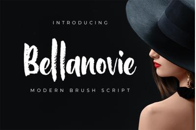Bellanovie  Modern Brush Script