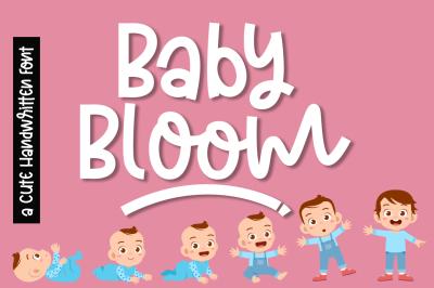 Baby Bloom a Cute Quirky Handwritten Font