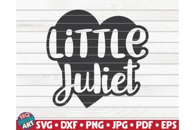 Little Juliet   Valentine's Day vector