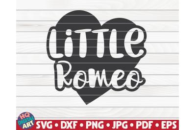 Little Romeo   Valentine's Day vector