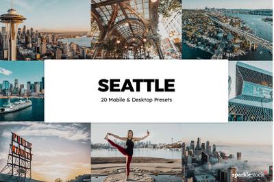 20 Seattle Lightroom Presets & LUTs