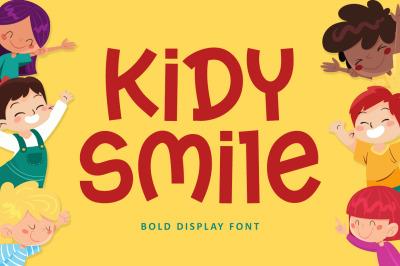 Kidy Smile - Kids Fun Font