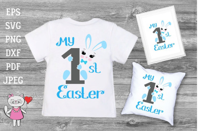 My First Easter Svg T-shirt Design Boy shirt svg