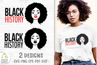 Black history month svg Black woman svg African american svg files