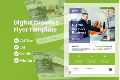 Digital Creative Business Flyer