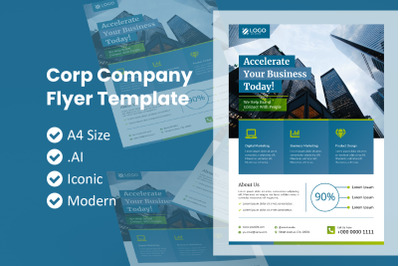 Corporate Company Business Flyer