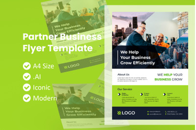 Partner Business Flyer Template