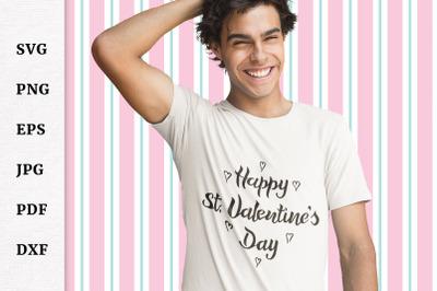 Valentine's Day quote SVG. Valentine SVG