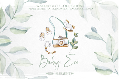 Eco Baby Watercolor Collection