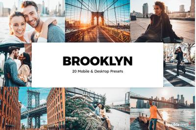 20 Brooklyn Lightroom Presets & LUTs