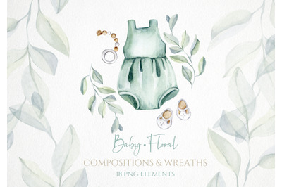 Watercolor Baby Illustrations