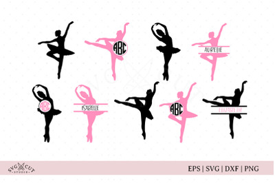 Ballerina SVG Cut Files
