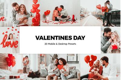 20  Valentines Day LR Presets