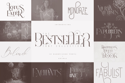 The Bestseller Font Collection