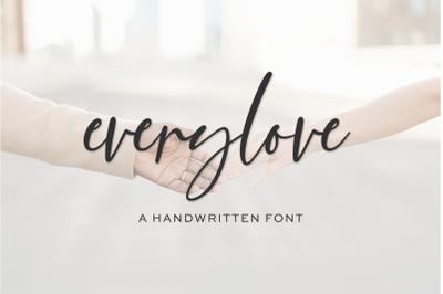 Everylove Script