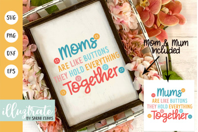 Mother's Day Quote SVG | Mothers Day Cut File | Mum SVG | Mom SVG