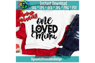 One Loved Mimi, Mimi Is My Name Spoiling Is My Game svg, Mimi SVG, Ble
