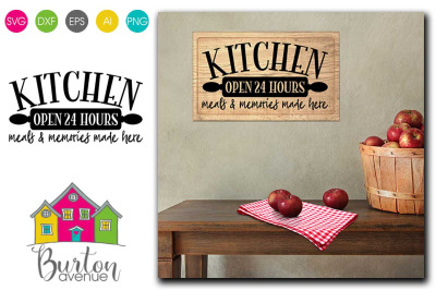 Kitchen SVG file