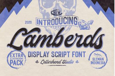 Lamberds - Display Script Font