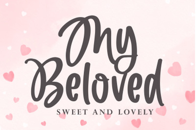 My Beloved - Sweet and Lovely