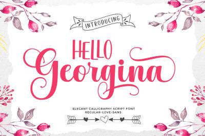 Hello Georgina Script