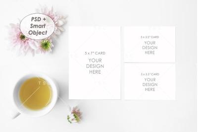Wedding Suite Card Mockup