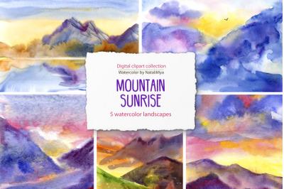 5 sunrise mountains landscapes